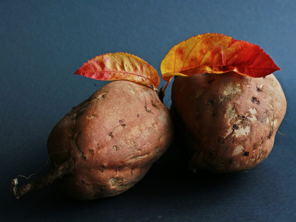 tubers foods like potato and sweet potato