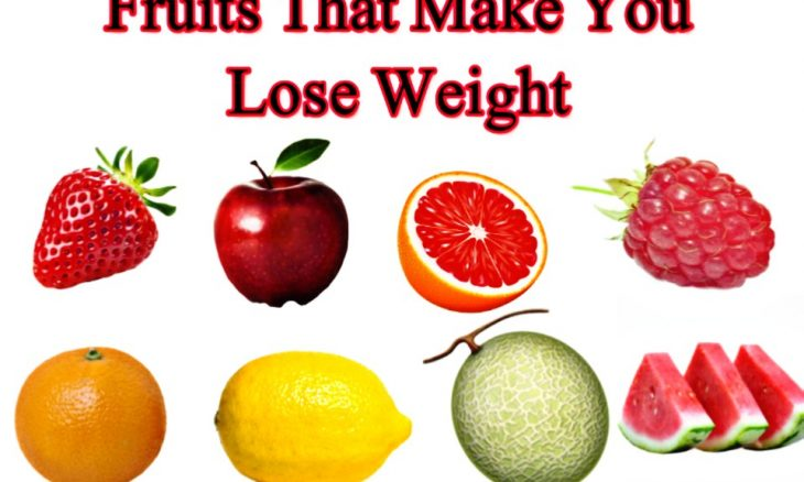 Fruits that make you lose weight: the 10 fat-burning fruits